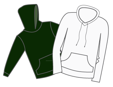 sweatshirts and jackets embroidery